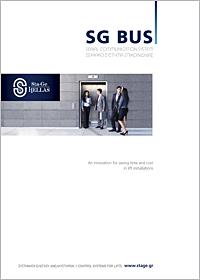 Brochure di sistemi per ascensori