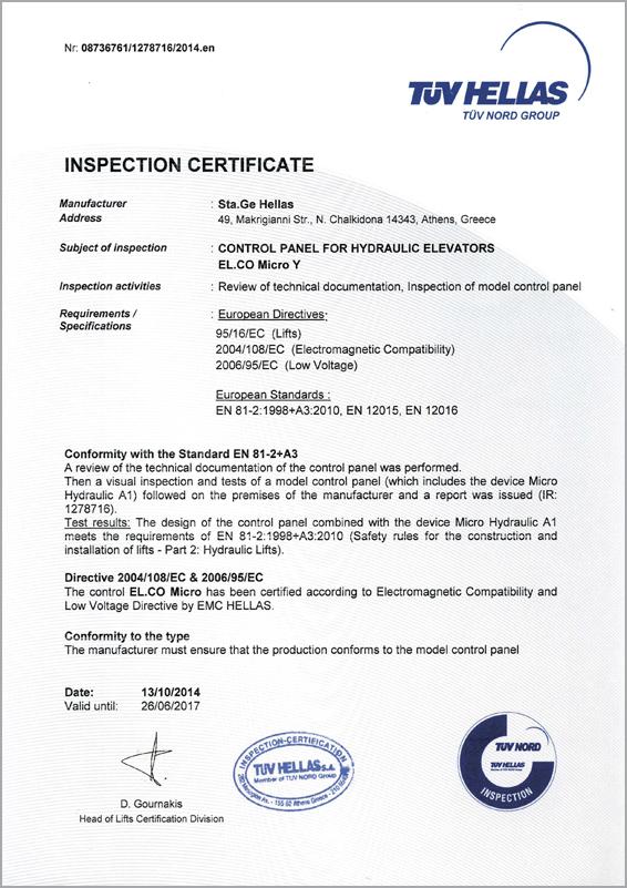 Certificati CE